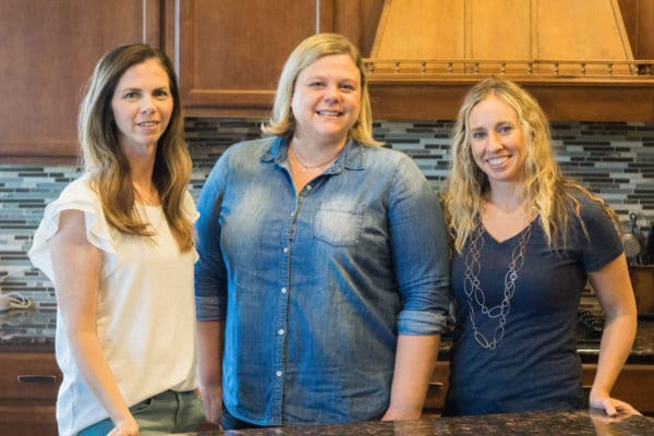 Picture of Beth, Jill, and Jess of Easy Budget Recipes