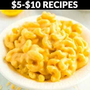 Recipes that cost between $5-$10 to make!