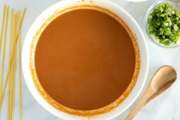 Thai Peanut Noodle Sauce