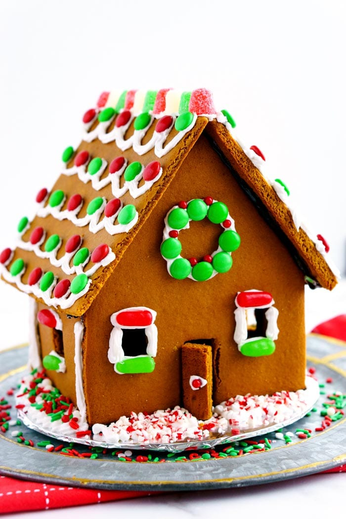 Beth's Homemade Gingerbread Houses recipe - with template ...