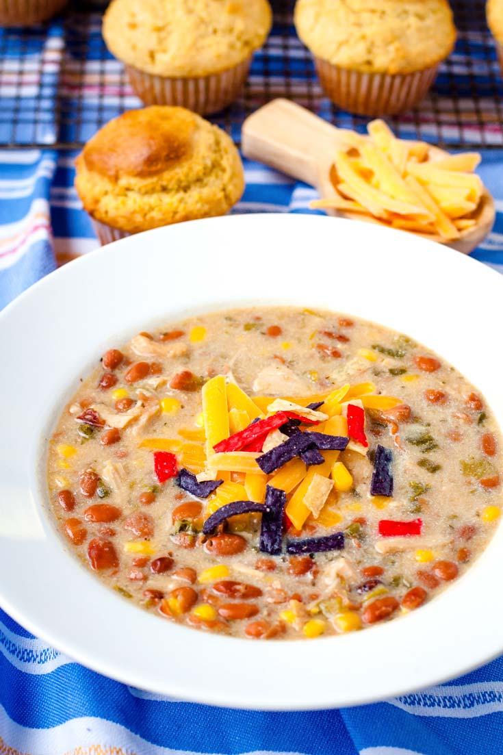 Crock Pot White Chicken Chili Easy Budget Recipes