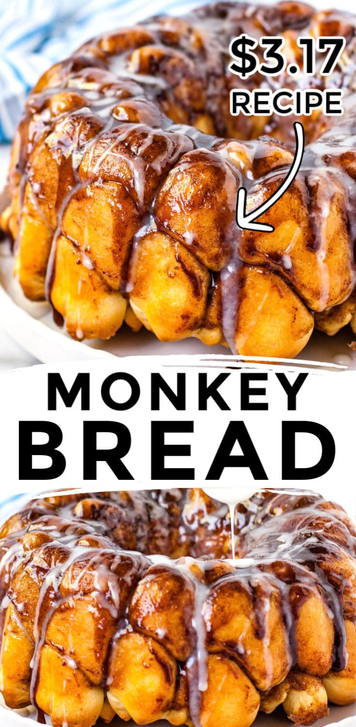 Quick Monkey Bread From Scratch - Easy Budget Recipes