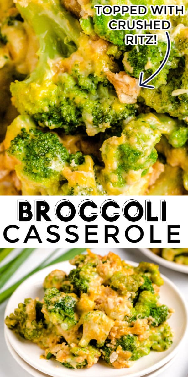 Mom's Crockpot Broccoli Casserole is a comfort food classic that our family has been making for over 30 years! It's creamy, cheesy, and so easy to make. You can serve it as a side dish or a main dish with rice! via @easybudgetrecipes