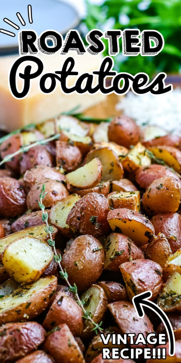 This Oven Roasted Red Potatoes recipe is a fool-proof recipe that's simple and delicious. These are great for weeknight dinners and holidays like Christmas, Easter, and Thanksgiving!  via @easybudgetrecipes