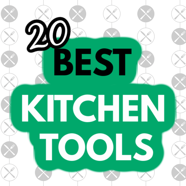 20 Best Kitchen Tools image for social media.