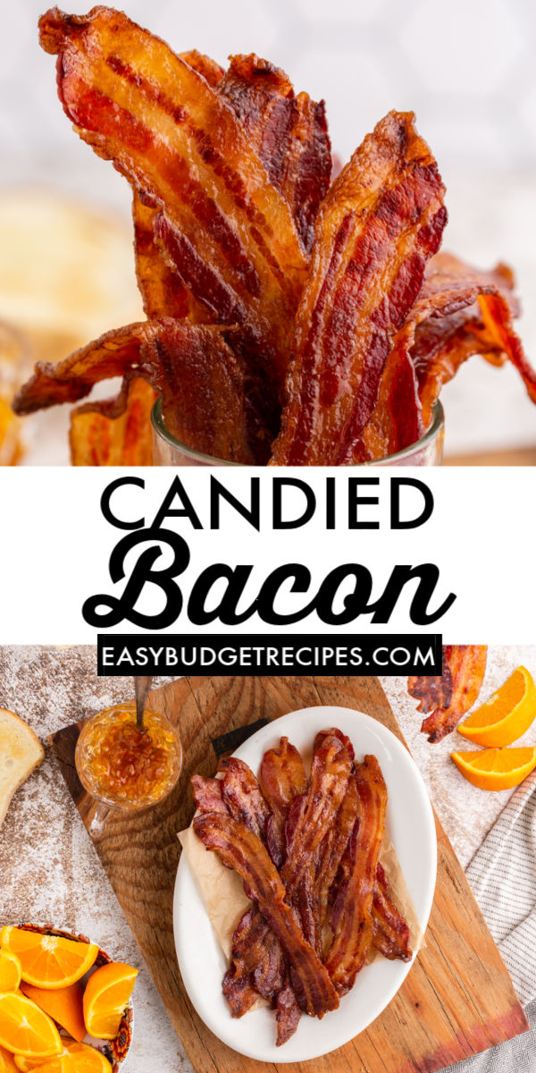 Vanilla Candied Bacon is a mouthwatering, crispy, and it has the perfect amount of sweetness. The vanilla makes the savory bacon flavor pop.Vanilla Candied Bacon is a mouthwatering, crispy, and it has the perfect amount of sweetness. The vanilla makes the savory bacon flavor pop. via @easybudgetrecipes