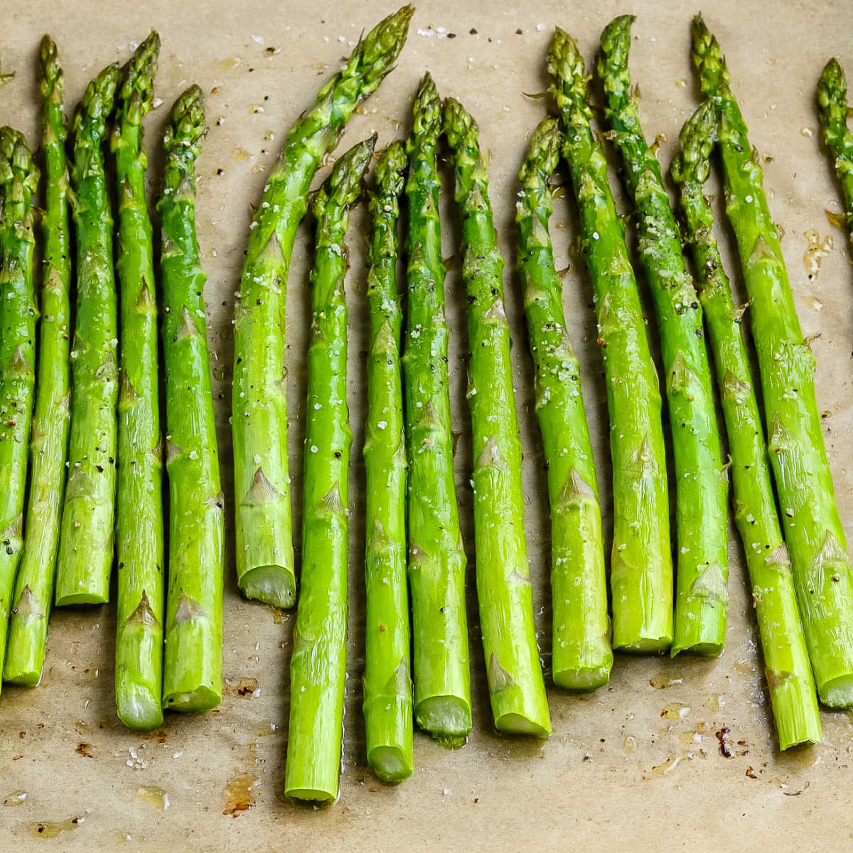 Asparagus In The Oven Easy Budget Recipes