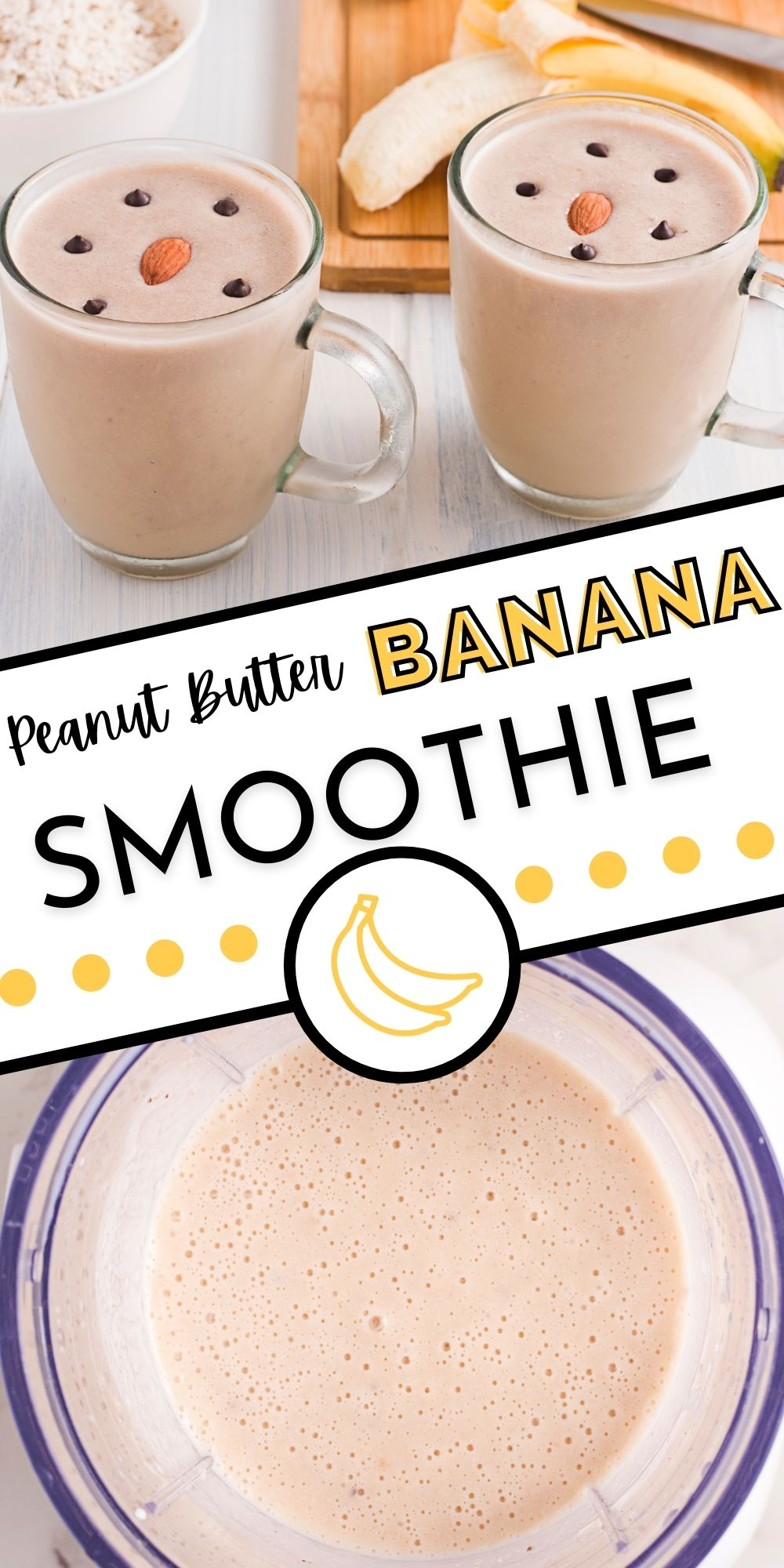 This HealthyPeanut Butter Banana Smoothierecipe is our classic go-to smoothie that we love whipping up for breakfast or after-school snacks. via @easybudgetrecipes